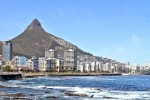Sea Point on the Atlantic Coast of Cape Town