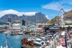Table Mountain at the Victoria Alfred Waterfront. Copy space for text shutterstock 1697821279 1