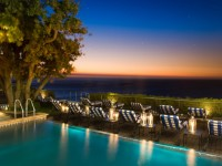 The Twelve Apostles Atlantic Terrace pool night