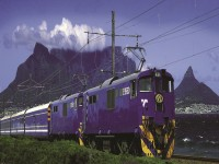 Blue Train Table Mountain