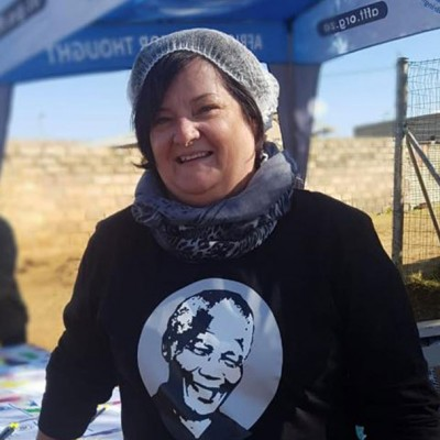 CEO Joanne for Mandela Day outreach